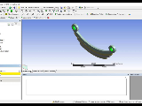 Mechanical Leaf spring analysis video 1